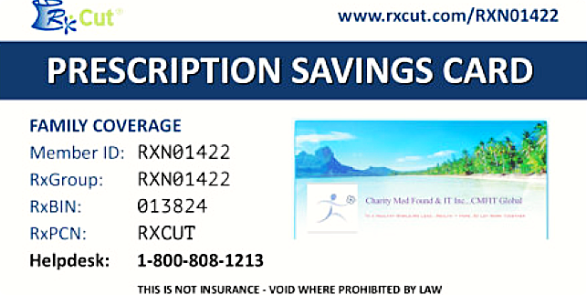 prescription saving card