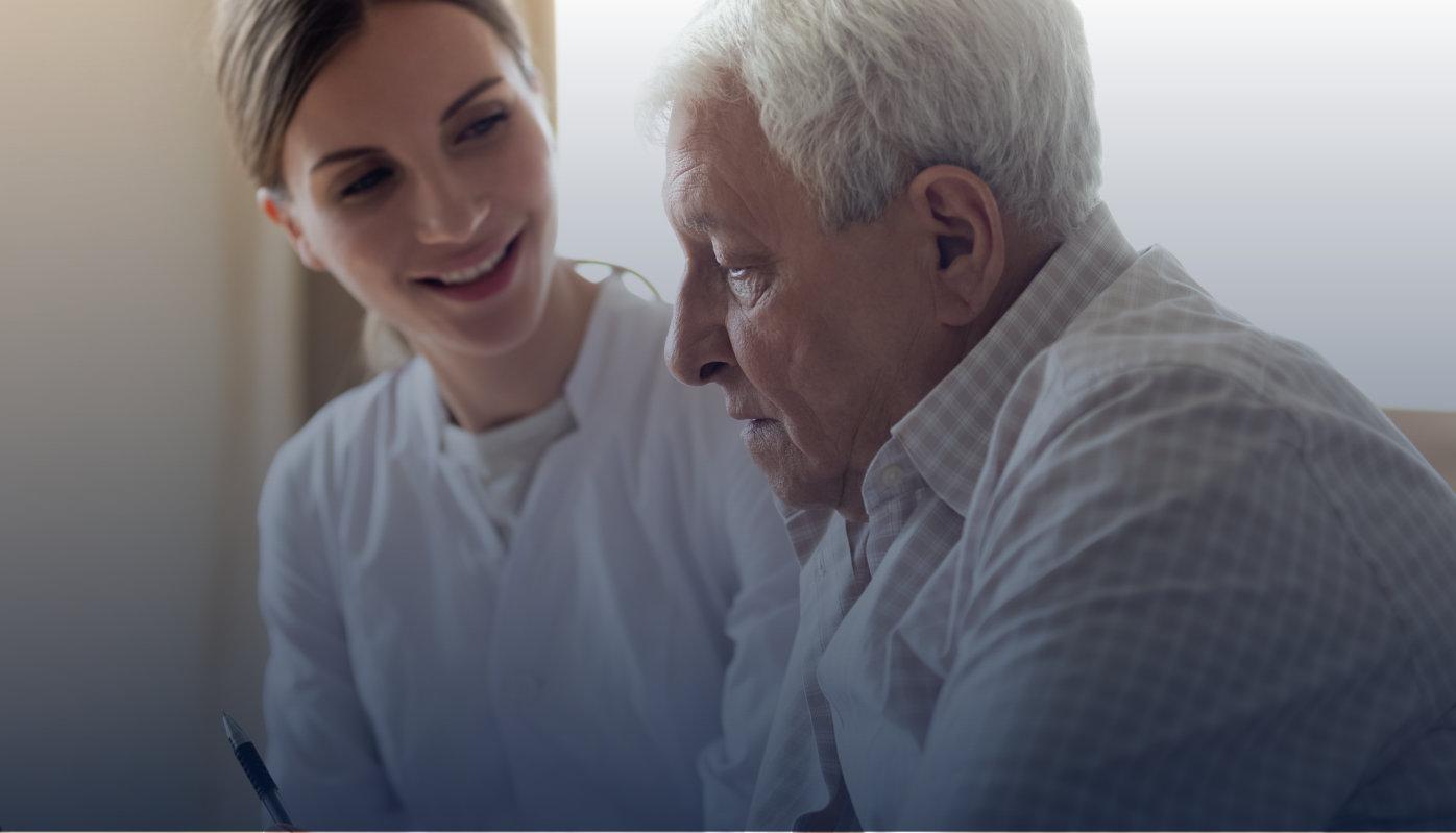care support nursing concept
